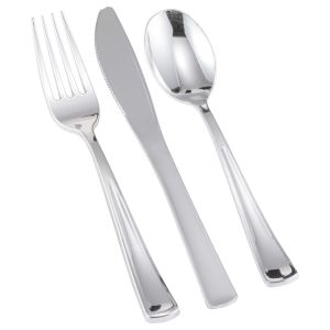 Silver Cutlery Pack