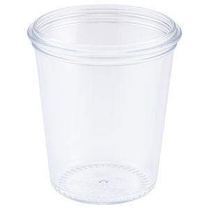 Clear Copolyester 150ml Pudding Pot
