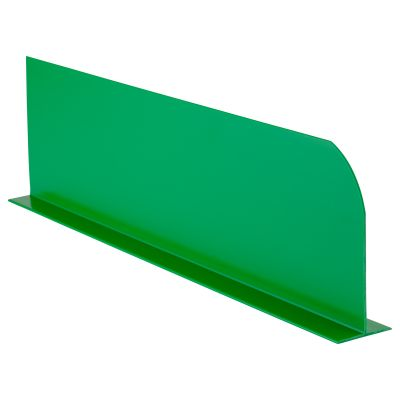 Coloured Divider Green 410x110mm