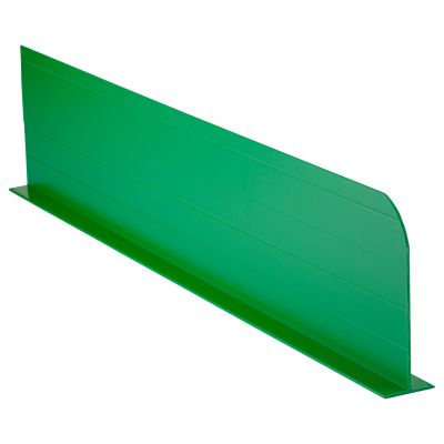 Coloured Divider Green 750x150mm