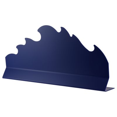 Blue Wave Divider (free stand) 750x250mm