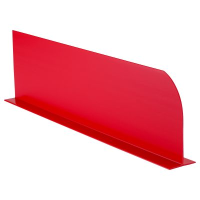 Coloured Divider Red 410x110mm