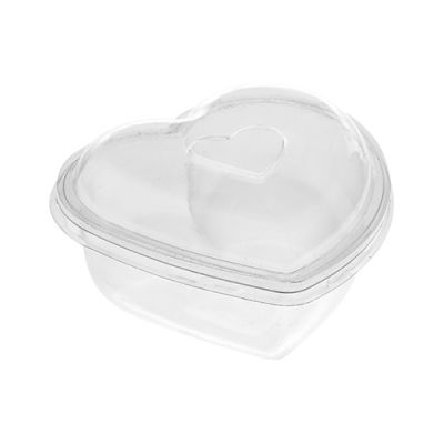 200ml Heart Shaped Bowl with Lid