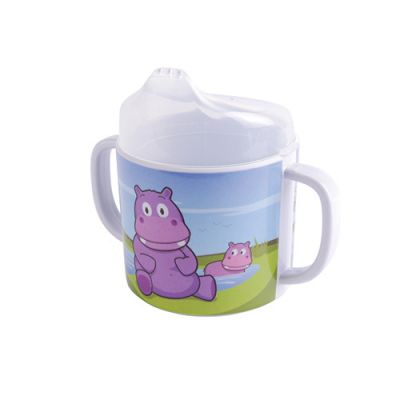 Hippo Double Handled 200ml Cup
