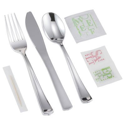 Silver Full Cutlery Pack