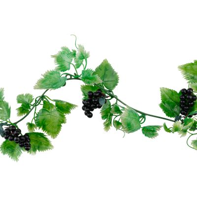 Vine with Black Grapes 1850mm