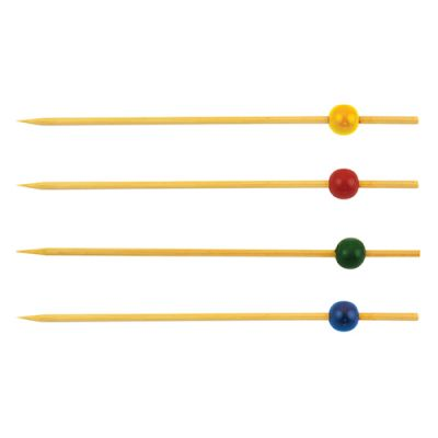 Ball Decorated 150mm Skewers