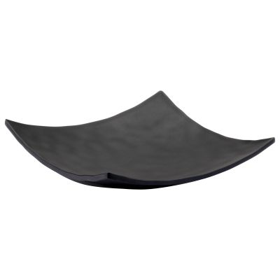 Pigment Noir Small Square Curved Plate