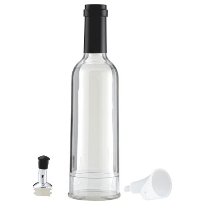 Clear Copolyester 350ml Oil Bottle with Lid