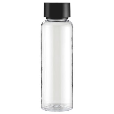Clear Copolyester 500ml Bottle with Black Lid