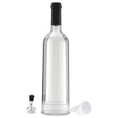 Clear Copolyester 700ml Oil Bottle with Lid