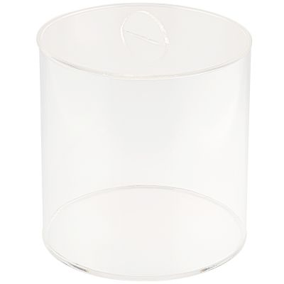 Clear 6L Display Tube Container with Lid