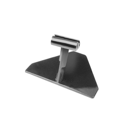 Small Black Polycarbonate Ticket Stand