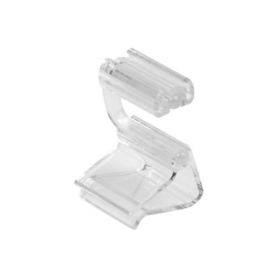 Small Clear PC Horizontal Ticket Clamp